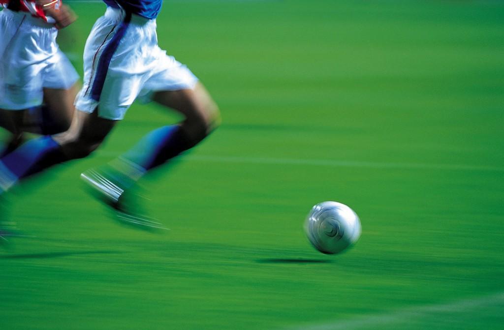 Fussball in Aktion