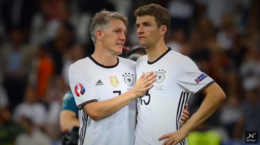 Halbfinale Deutschland gegen Frankreich bei der Europameisterschaft 2016