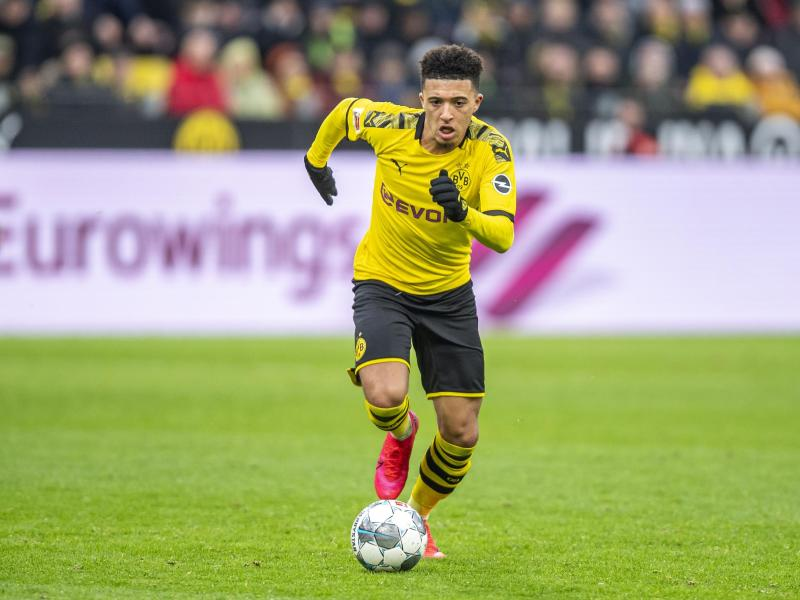 Begehrt auf dem internationalen Transfermarkt: BVB-Youngster Jadon Sancho. Foto: David Inderlied/dpa  David Inderlied